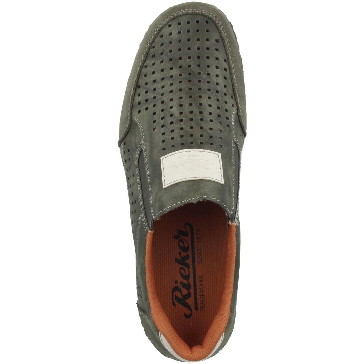 Rieker B9266-56 Schuhe Herren Antistress Freizeit Sneaker Halbschuhe Slipper