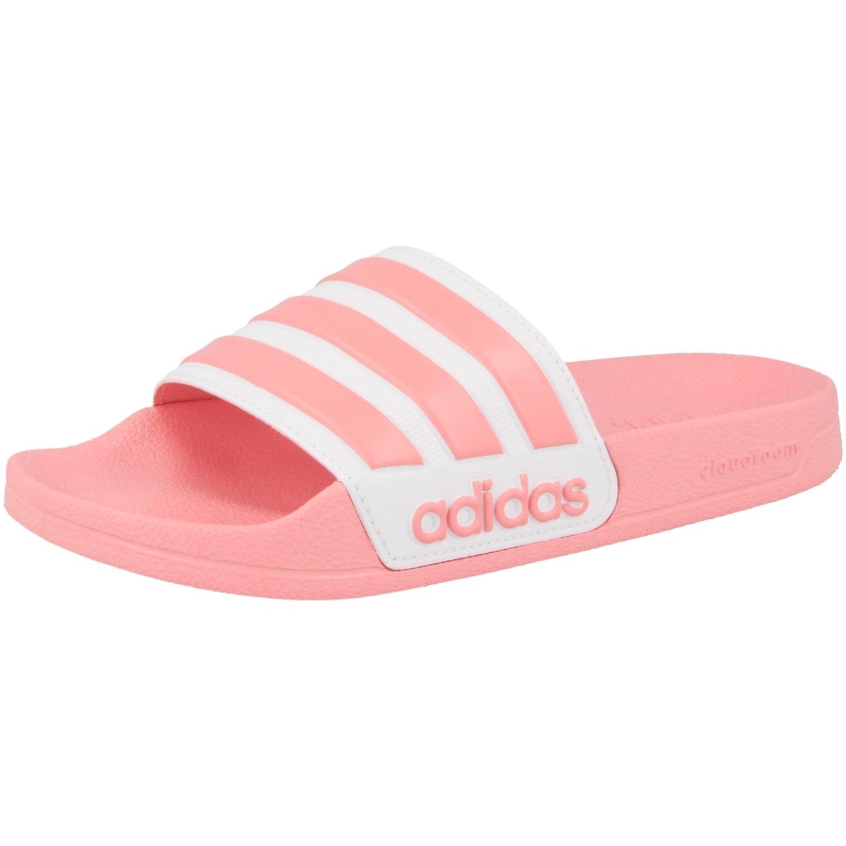 Adidas Adilette Shower Badelatschen Damen white pink im