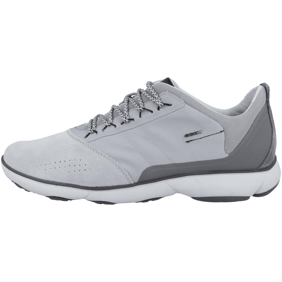 Geox Schuhe NEBULA blau Herrenschuhe sportliche Slipper U54D7B 01122 C4072 NEU