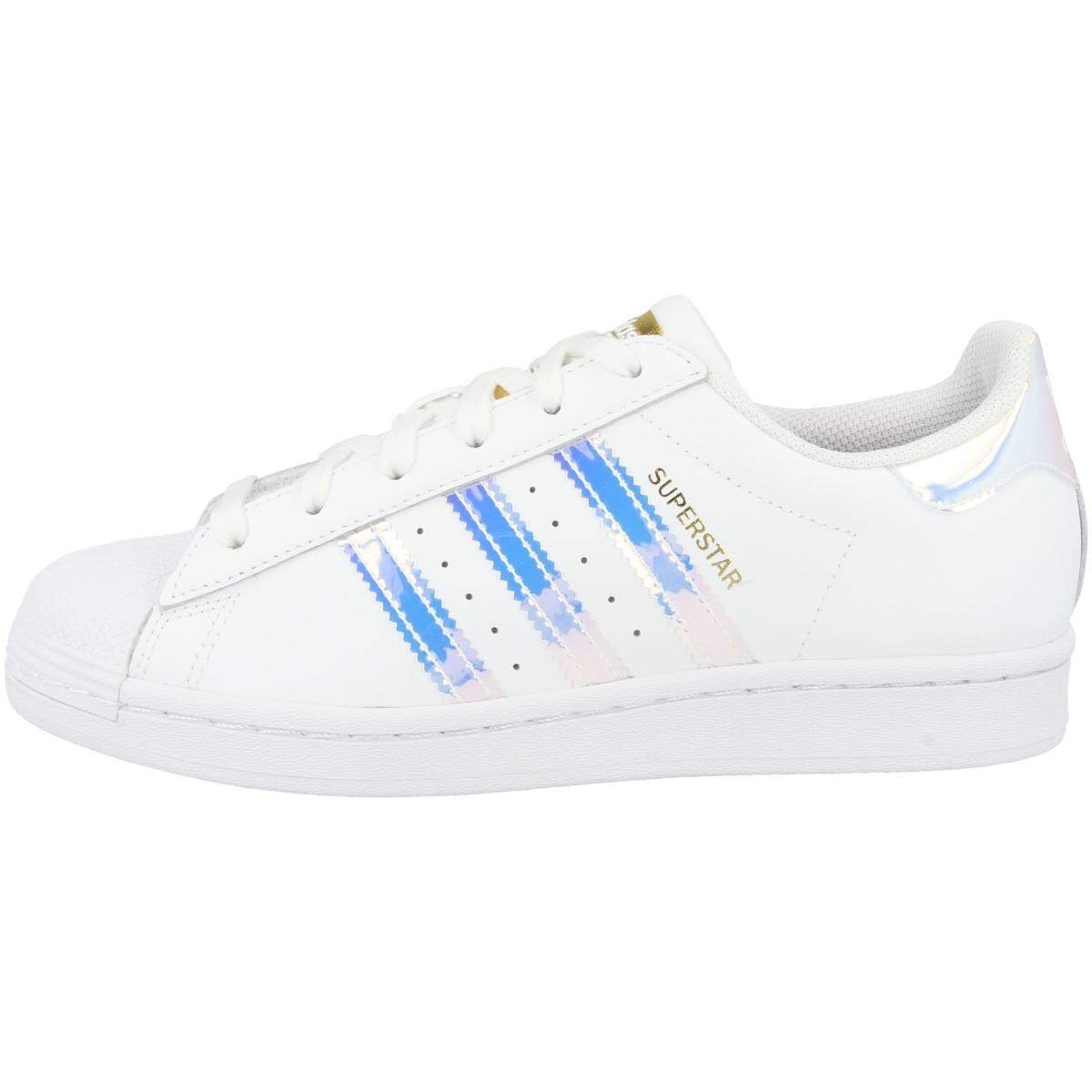 Adidas-Superstar-cortos-senora-Originals-ocio-zapatos-zapatillas-clasico miniatura 4