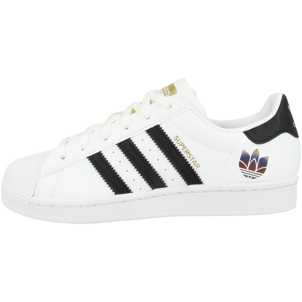 Adidas-Superstar-cortos-senora-Originals-ocio-zapatos-zapatillas-clasico miniatura 3